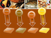 Pastry In Collage PowerPoint Template#8