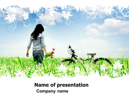 In the Field PowerPoint Template