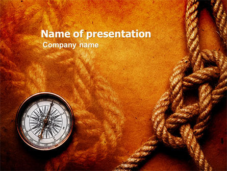 Marine PowerPoint Template, 05777, Business Concepts — PoweredTemplate.com