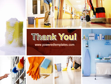 Housecleaning PowerPoint Template Slide 20