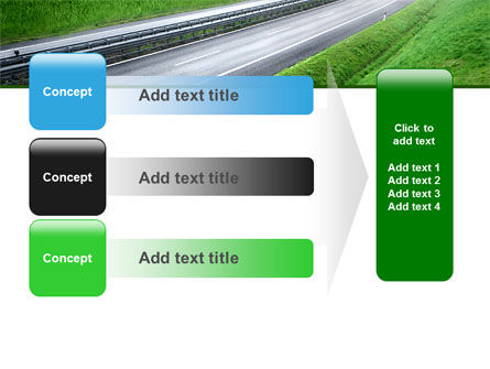 Dawn Highway PowerPoint Template Slide 12