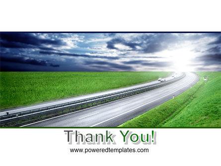 Dawn Highway PowerPoint Template Slide 20