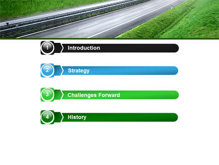 Dawn Highway PowerPoint Template Slide 3