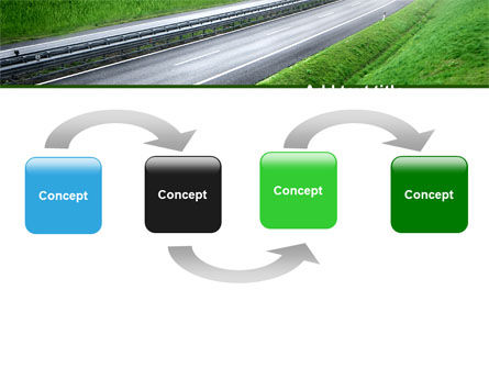 Dawn Highway PowerPoint Template Slide 4