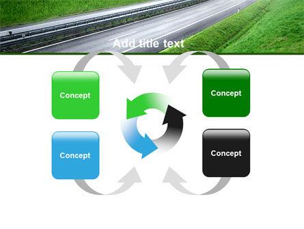 Dawn Highway PowerPoint Template Slide 6