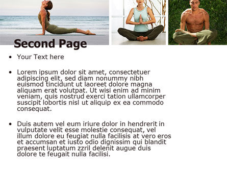 Yoga PowerPoint Template Slide 2