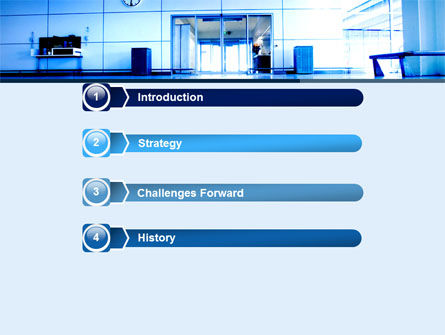 Entrance Hall PowerPoint Template, Slide 3, 05784, Business — PoweredTemplate.com