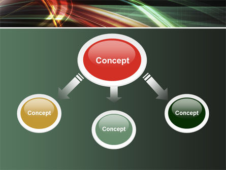 Rays Of Light PowerPoint Template Slide 4