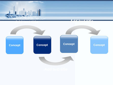 Ice City PowerPoint Template, Slide 4, 05787, Construction — PoweredTemplate.com