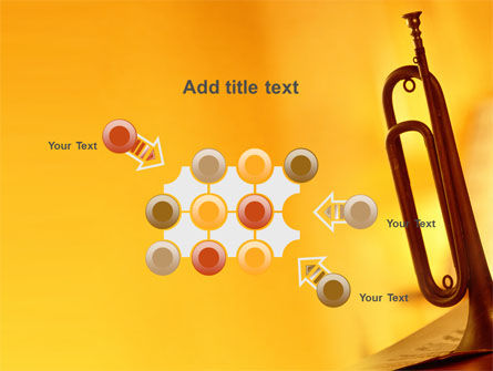 Trumpet PowerPoint Template Slide 10