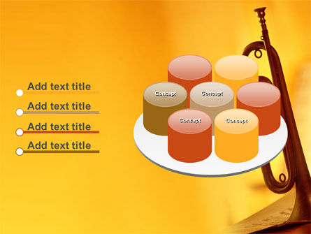 Trumpet PowerPoint Template Slide 12
