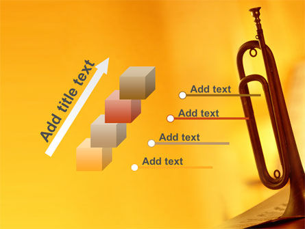 Trumpet PowerPoint Template Slide 14