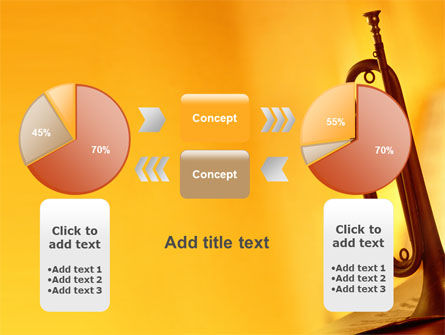 Trumpet PowerPoint Template Slide 16