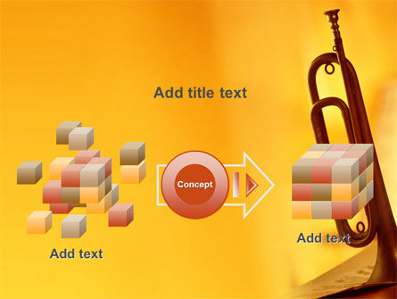 Trumpet PowerPoint Template Slide 17