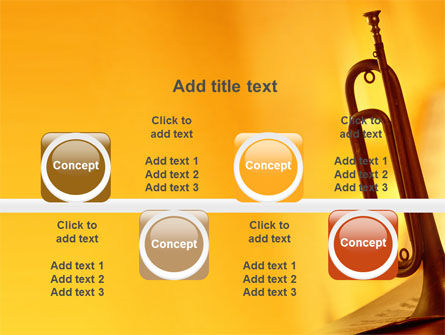 Trumpet PowerPoint Template Slide 18