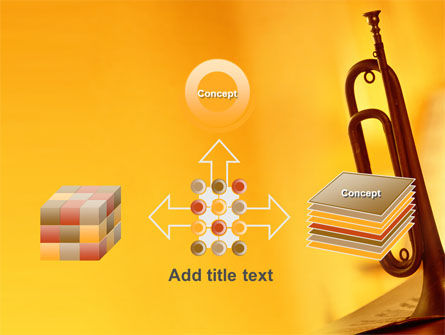 Trumpet PowerPoint Template Slide 19