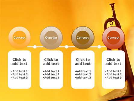 Trumpet PowerPoint Template Slide 5