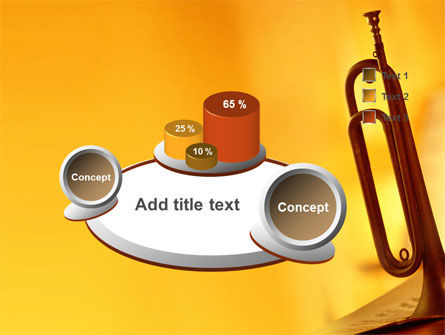 Trumpet PowerPoint Template Slide 6