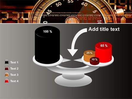 Stopwatch Clockface PowerPoint Template Slide 10