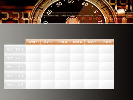 Stopwatch Clockface PowerPoint Template Slide 15