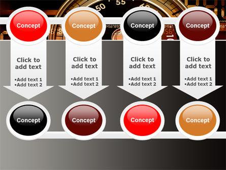 Stopwatch Clockface PowerPoint Template Slide 18