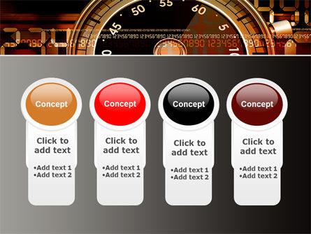 Stopwatch Clockface PowerPoint Template Slide 5