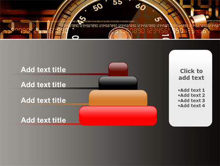 Stopwatch Clockface PowerPoint Template Slide 8