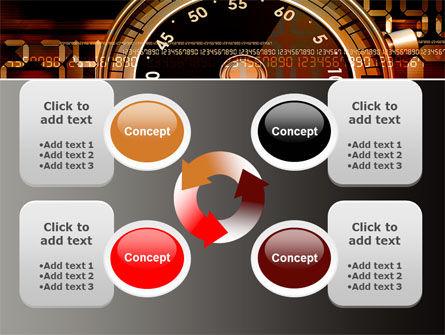 Stopwatch Clockface PowerPoint Template Slide 9