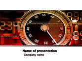 Business: Stopwatch Clockface PowerPoint Template #05792