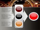 Stopwatch Clockface PowerPoint Template#11