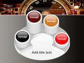 Stopwatch Clockface PowerPoint Template#12