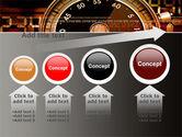 Stopwatch Clockface PowerPoint Template#13