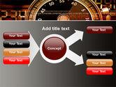 Stopwatch Clockface PowerPoint Template#14