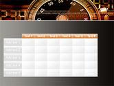 Stopwatch Clockface PowerPoint Template#15