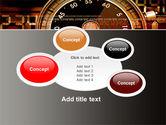 Stopwatch Clockface PowerPoint Template#16