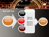 Stopwatch Clockface PowerPoint Template#17