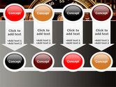 Stopwatch Clockface PowerPoint Template#18