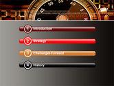 Stopwatch Clockface PowerPoint Template#3