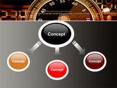 Stopwatch Clockface PowerPoint Template#4