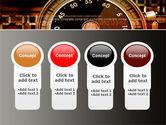 Stopwatch Clockface PowerPoint Template#5