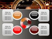 Stopwatch Clockface PowerPoint Template#9