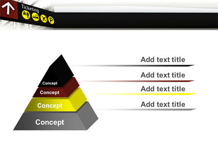 ticket reservation powerpoint template backgrounds. Black Bedroom Furniture Sets. Home Design Ideas
