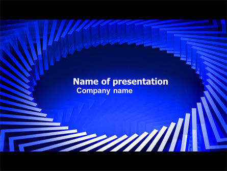 Turbine Blades PowerPoint Template