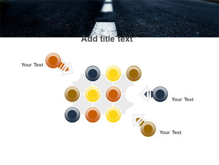 Long Distance Road PowerPoint Template Slide 10