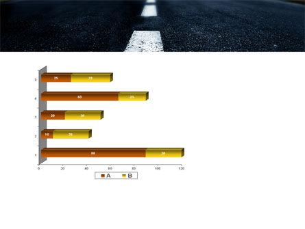 Long Distance Road PowerPoint Template Slide 11