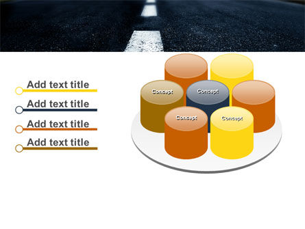 Long Distance Road PowerPoint Template Slide 12
