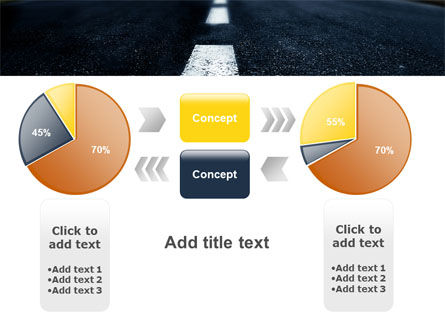 Long Distance Road PowerPoint Template Slide 16