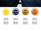Long Distance Road PowerPoint Template#5