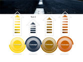 Long Distance Road PowerPoint Template#7