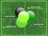 Football Play Field PowerPoint Template#10